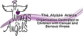 The Alyssa Araiza Wings of Angels Organization Logo